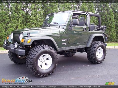 Custom Willys Jeep Custom Wheels Of 2004 Jeep Wrangler Willys Edition 4x4