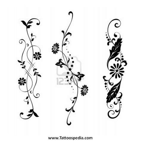 tattoo flower vector flower tattoos vector 2
