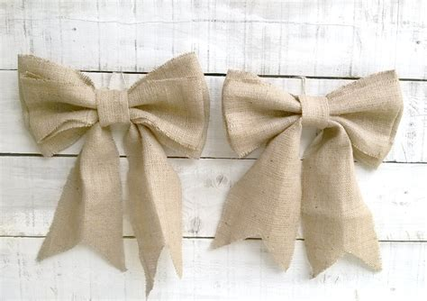 Wedding Aisle Bows by Aisle Marker Burlap Bows Wedding Bows Pew End Bows