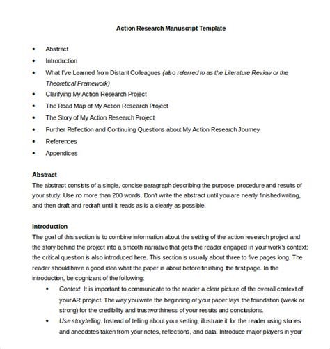 8 research paper outline templates free sle exle