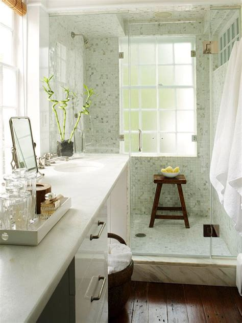 narrow master bathroom 26 cool and stylish small bathroom design ideas digsdigs