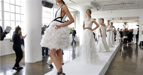 Classic Only In Fashion Moment by Traditional Classic Moments At Bridal Fashion Week