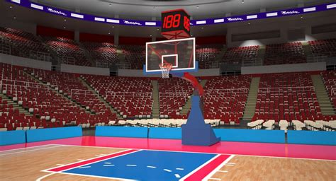 basketball arena max generic basketball arena