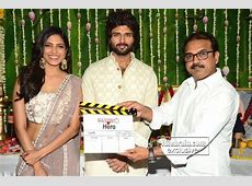 Vijay Deverakonda's Hero movie launch - idlebrain.com news Malavika Krishnamoorthy