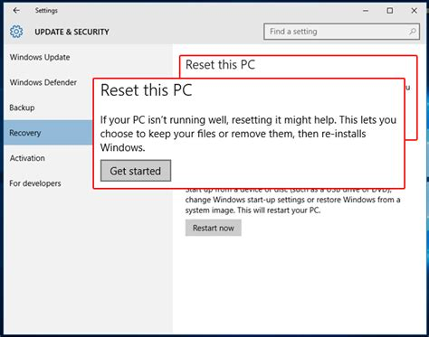 resetting windows update 10 how to factory reset windows 10 bring it to default in 3