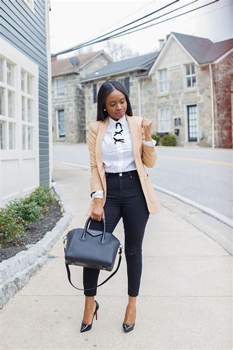 casual work outfits  black women bafbouf