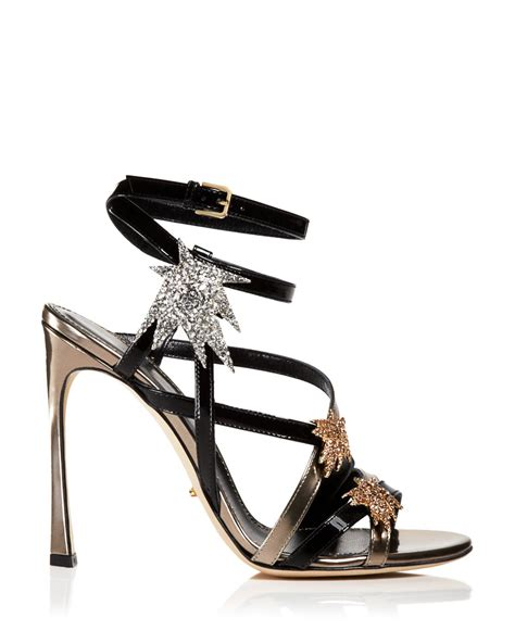 black high heel evening shoes sergio open toe evening sandals icarus high