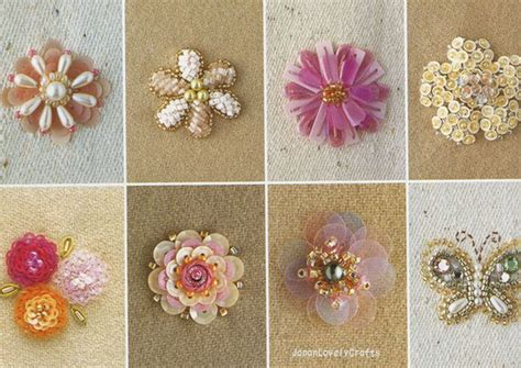 bead and sequin embroidery stitches haute couture motif 100 japanese bead embroidery