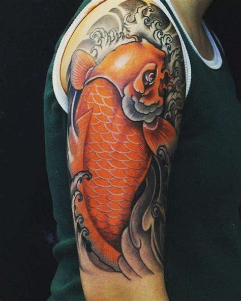 orange koi fish tattoo design koi fish design 40 coy fish ideas 2018