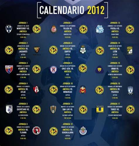 Calendario Liga Mx Clausura 2015 Club America Calendario Clausura Liga Mx 2015 New Calendar Template Site