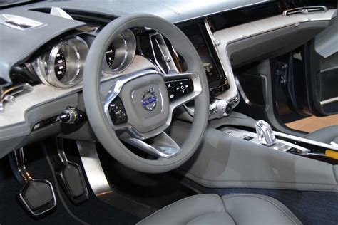 volvo concept coupe 2013 interior chief designer says concept coupe captures essence of