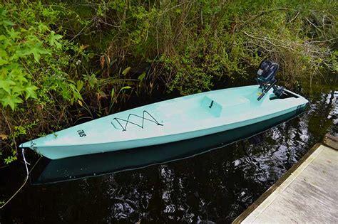 skiff boat accessories fishing kayak solo skiff