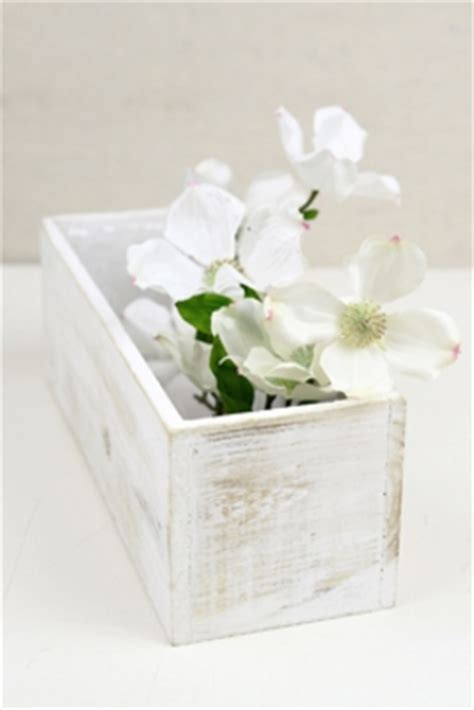 wood drawer planter boxes wood drawer planter boxes 2 compartments 9in white