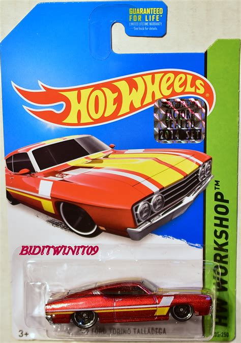 Wheels 69 Corvette Factory Sealed Us Card wheels 2014 hw workshop 69 ford torino talladega