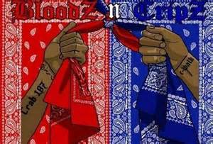 bloods colors a talks out of the box colors or political colors