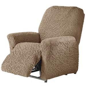 housse bi extensible gaufr 233 e fauteuil relax blancheporte