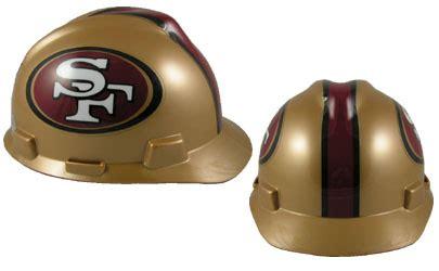 san francisco 49 ers msa nfl team logo hard hat nfl safety helmets nfl