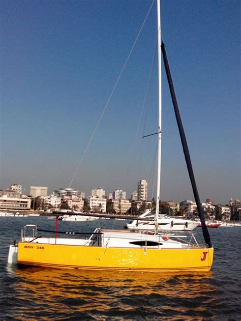 sailboat with cabin cabin sailboat jj on charter in mumbai from gateway of