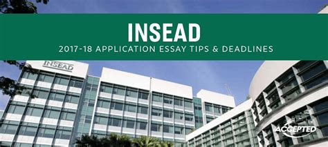 Mba Strategy Insead by Accepted Admissions