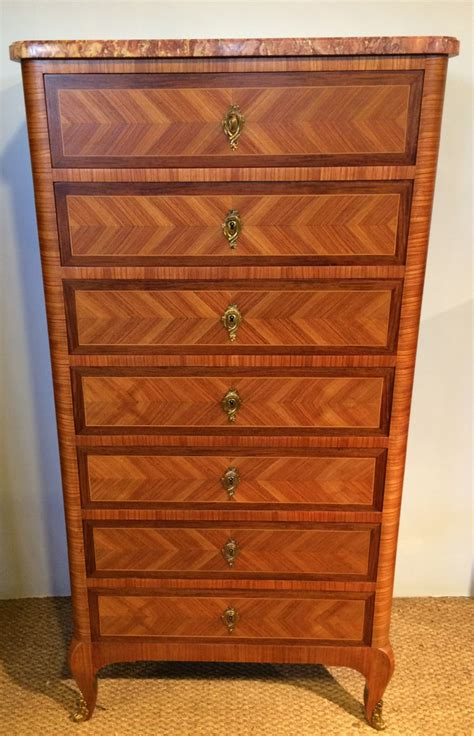 tall narrow chest of drawers tall narrow chest of drawers semainier 307570