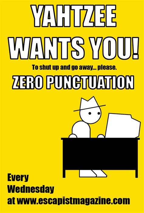Punctuation Meme - zero punctuation poster by zathroth on deviantart