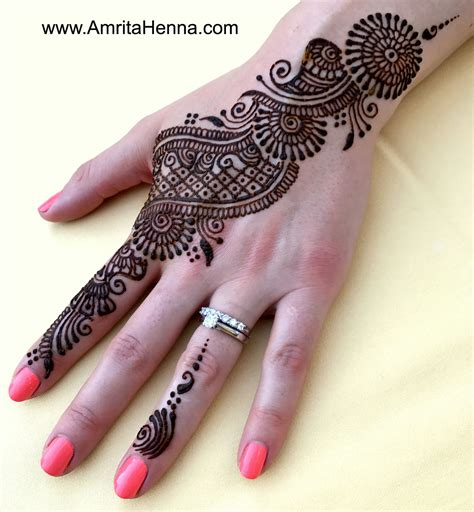 Top 10 Best Henna Designs For A Girls Party Henna Tattoo Best Designs For