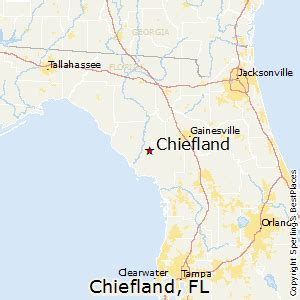 Average Rent Cost best places to live in chiefland florida