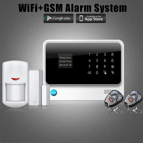 new product wifi alarm system gprs gsm alarm systems