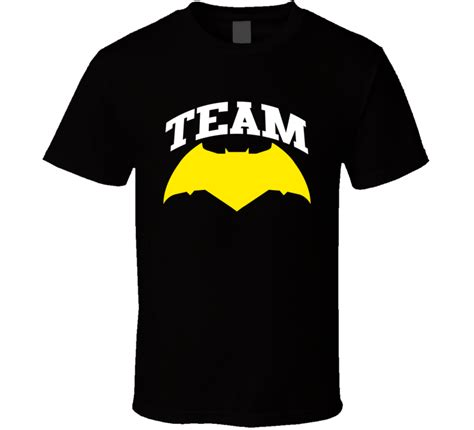 Kaos T Shirt Batman Affleck team batman v superman of justice logo ben affleck t