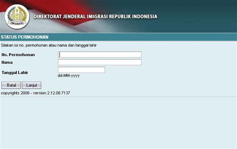 cara membuat paspor baru 2014 cara buat paspor baru secara online ikeni net