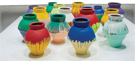 ai weiwei vase ai weiwei vase worth 1 million smashed at perez museum