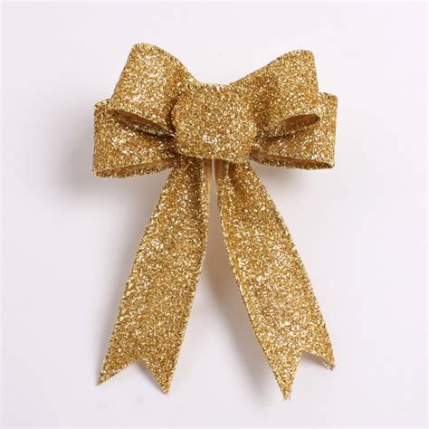 silver bows for tree gold silver tree garland bow 20 pcs lot