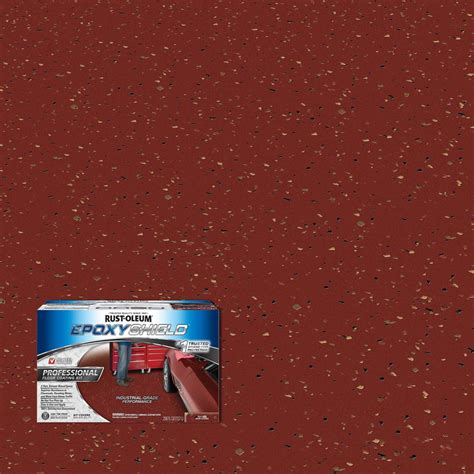 1 gal semi gloss 2 part epoxy garage floor coating kit rust oleum epoxyshield 2 gal gray 2 part high gloss epoxy