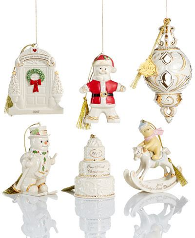 lenox christmas annual 2017 ornament collection holiday