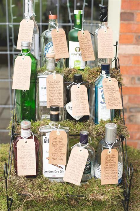 fab diy idea gin bottles as vases
