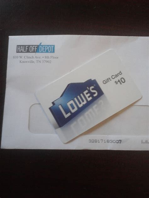Lowes E Gift Card - best how much is on my lowes gift card noahsgiftcard