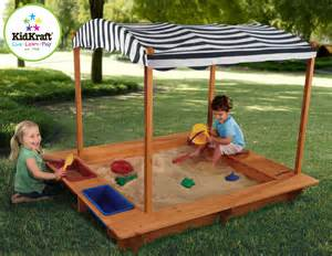 kidkraft outdoor sandbox with canopy by oj commerce 165