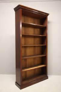 Open Bookcase Antique Mahogany Open Bookcase Antiques Atlas