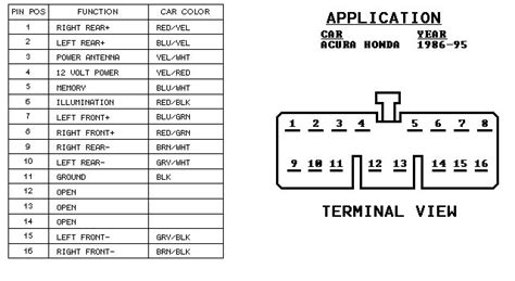1992 honda accord stereo wiring diagram need help wiring radio problem honda tech