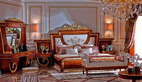 luxury bedroom chairs 5 piece european luxury bedroom set