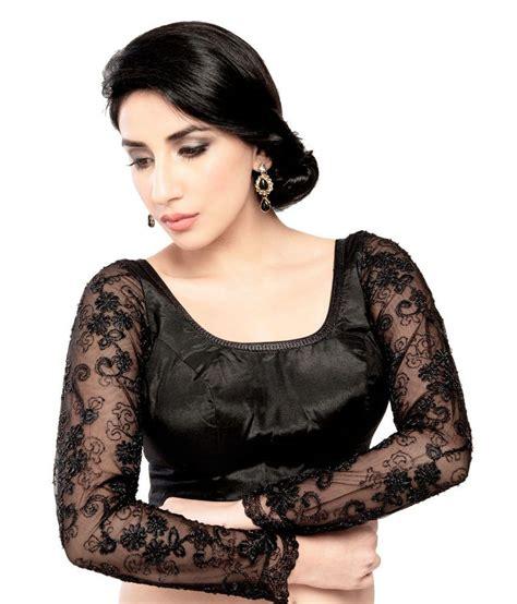Jedar Blouse 2 N1 vamas black net blouses buy vamas black net blouses