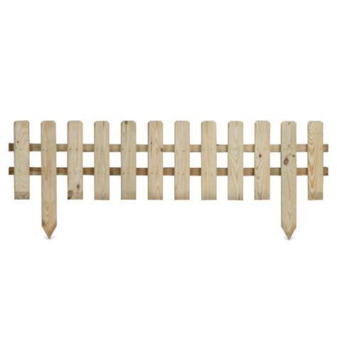 bordura giardino legno bordura suprium in legno impregnato per recinzioni