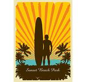 Sunset Beach Park  Dp Illustrations