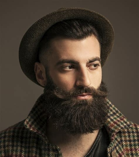 How To Comb Hair Styles For Without Wax by Beard With Handlebar Mustache