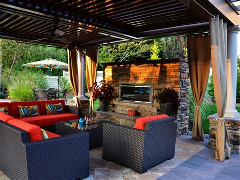 Outdoor Living Room by Multifunctional Outdoor Oasis Marc Nissim Hgtv