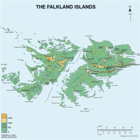 falkland islands on map falklands war map images