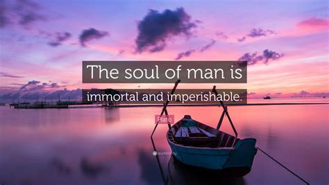 the soul of man plato quote the soul of man is immortal and imperishable 18 wallpapers quotefancy