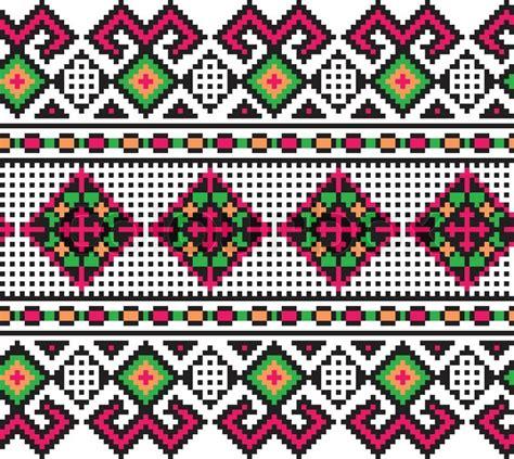 ukrainian pattern vector vector illustration of ukrainian pattern ornament stock