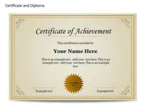 diploma certificate template free best photos of editable achievement templates printable