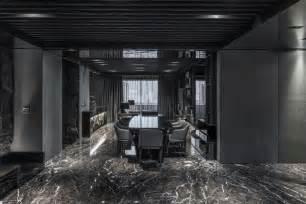 D 233 Coration Salon Moderne En Noir Pour Un Int 233 Rieur Glamour